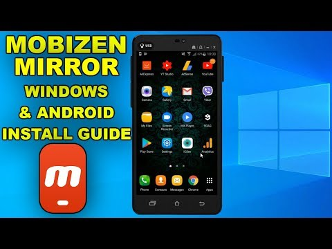 Mobizen Mirror Remote For Android And Windows 2019 Installation Guide
