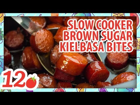 How To Make: Slow Cooker Brown Sugar Kielbasa Bites