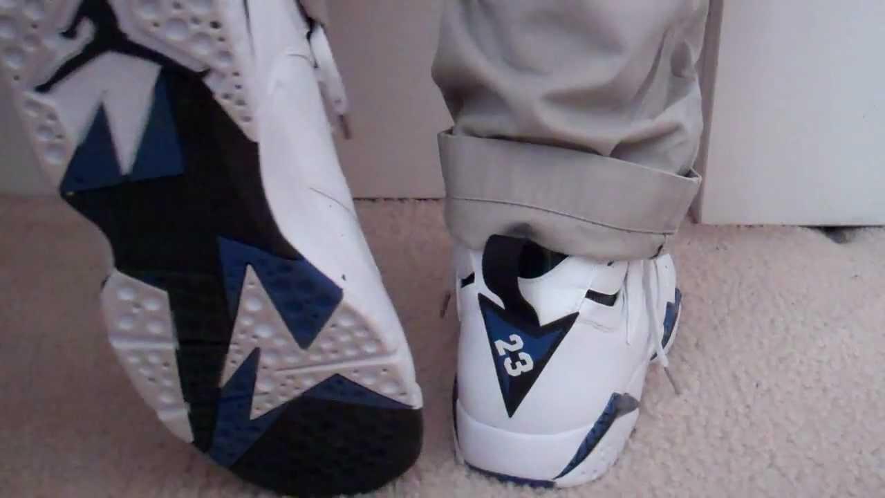 9baaa703e03 Shoe #3- Air Jordan Orlando Magic DMP 7s - YouTube