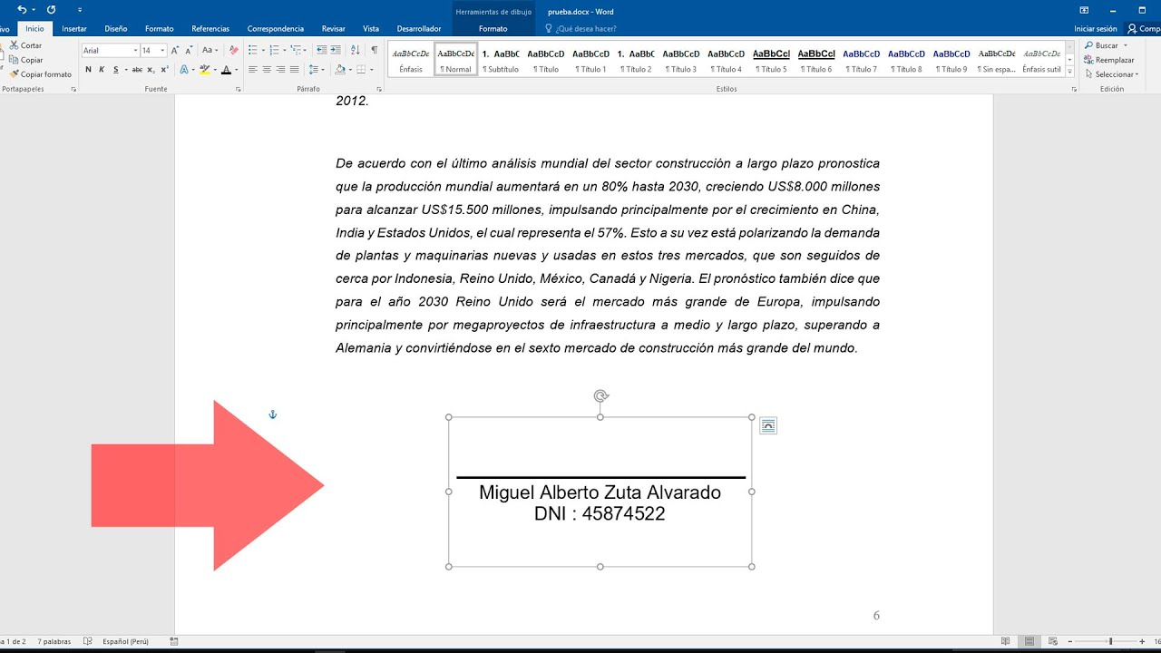 Como Poner La Firma En Un Documento Word Youtube