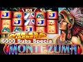 ★ MEGA JACKPOT HANDPAY 6000 SUBSCRIBERS SPECIAL ★ MONTEZUMA DOUBLE JACKPOT HIGH LIMIT SLOT MACHINE ★