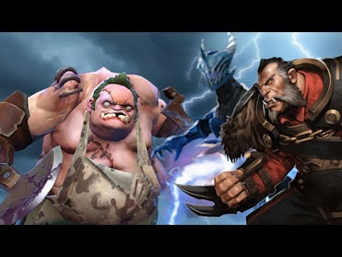You'll Need 2 Heroes Mid To Deal With A TI WINNER Pudge