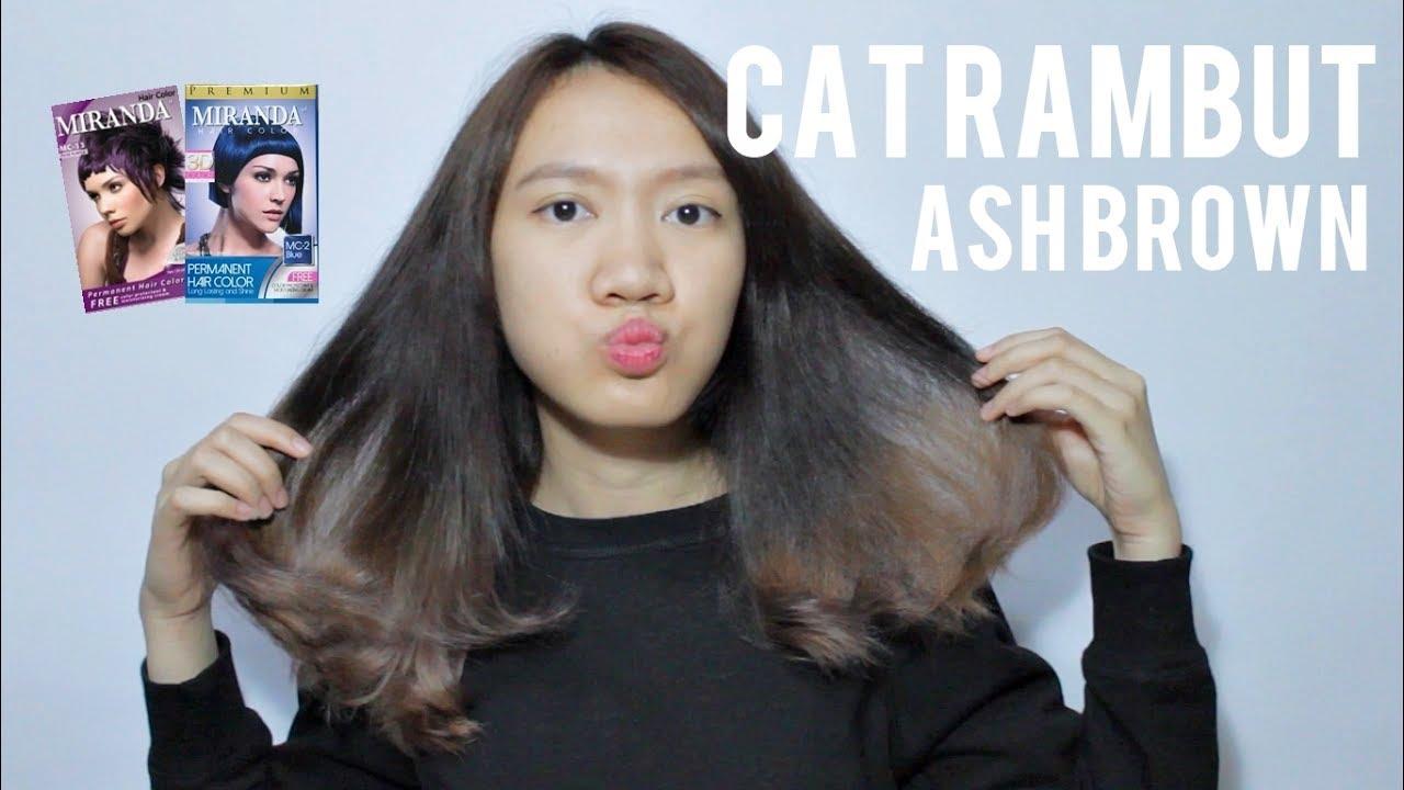 Warna  Rambut  Coklat  Brown Miranda  Ala Model Kini