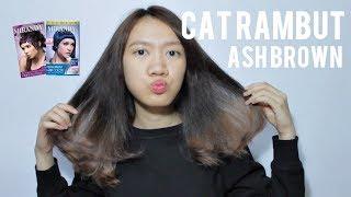 [TUTORIAL] Cara Mewarnai Rambut Sendiri - Abu-abu Ash Brown (How to dye your own hair)