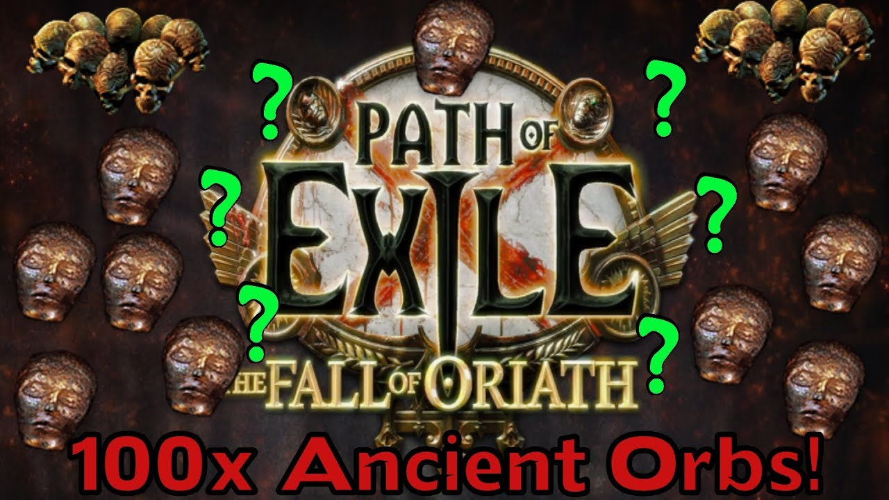 path of exile 110x ancient orb experiment leather belts going