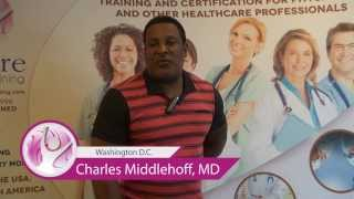 Testimonial by Charles Middelhoff, M.D. - Empire Medical Training