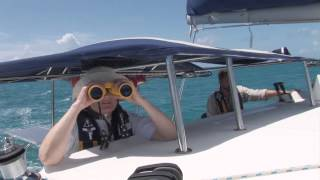 Catamaran Sailing in the British Virgin Islands (BVI) - Virgin Gorda to Anegada on a Lagoon 380