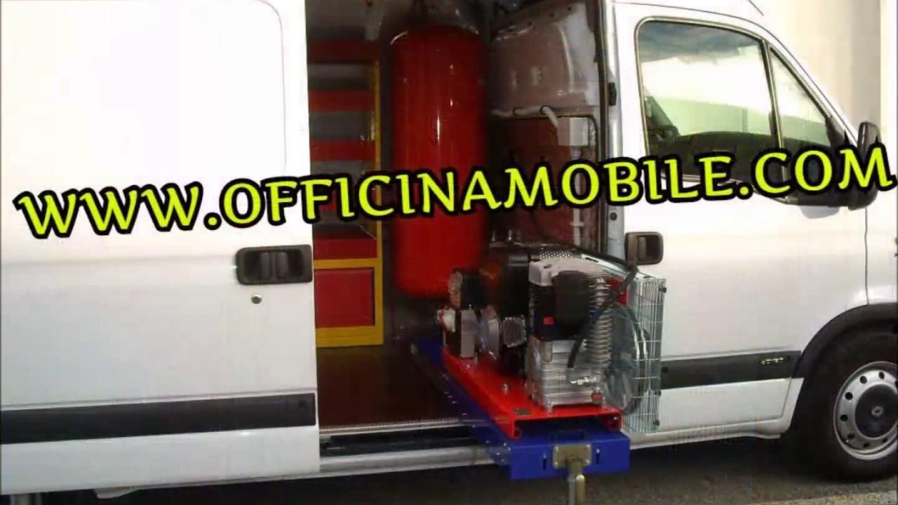 Allestimenti veicoli e officine mobili officina mobile for Mobili officina