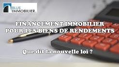 FINANCEMENT IMMOBILIER POUR UN BIEN DE RENDEMENT (SUISSE)
