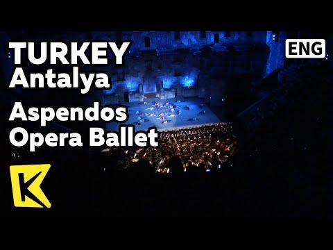 【K】Turkey Travel-Antalya[터키 여행-안탈리아]아스펜도스의 밤, 오페라 발레 축제/Aspendos Opera Ballet/Festival/Amphitheater