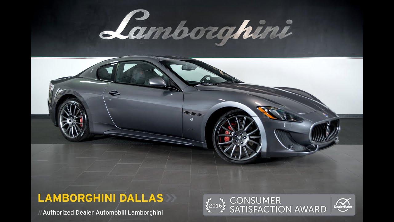 How To Get A Free Carfax Report >> 2014 Maserati Gran Turismo Sport Metallic Gray LT0904