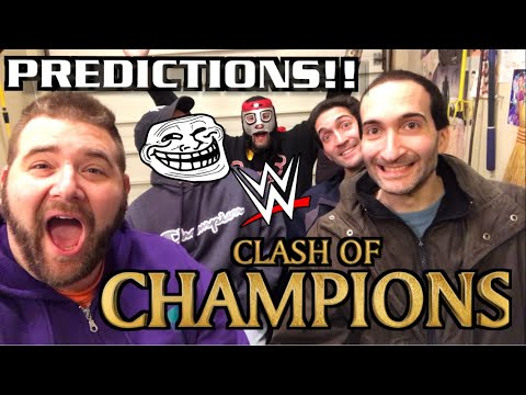 WWE CLASH of CHAMPIONS PPV PREDICTIONS!