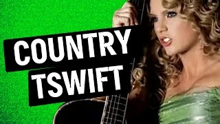When Taylor Swift Was Country! (Throwback)
