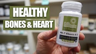 OSTEOPOROSIS? HEART DISEASE? THIS VITAMIN CAN HELP!