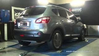 Reprogrammation Moteur Nissan Qashqai 1.5 dci 110cv @ 130cv Digiservices Paris 77183 Dyno