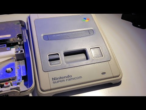 Playing PAL region games on a Japanese Super Famicom (bypassing security)
