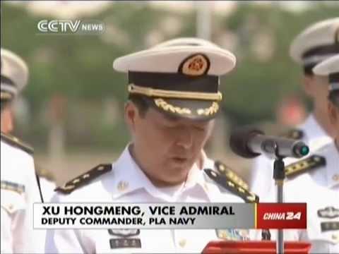 China's Peace Ark returns after marathon journey