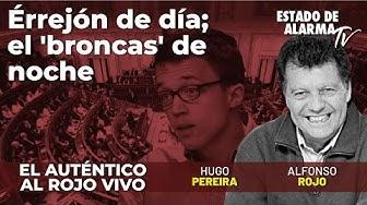 Image del Video: El Auténtico Al Rojo Vivo: Errejón de día; el 'broncas' de noche