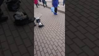 Незаконке торговля в городе Рославле