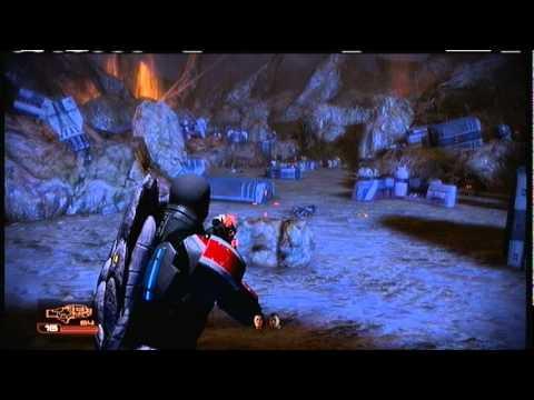 Mass Effect 2 sidequest: Wrecked Merchant Freighter