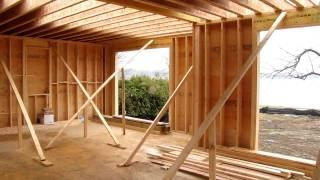 Custom Home Framing - 2nd Floor