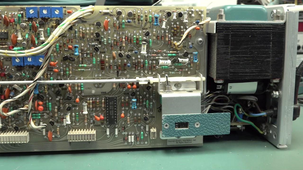 Dumpster Tektronix 475 Oscilloscope Repair Part 1 Youtube