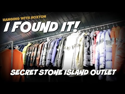 I FOUND IT!!! SECRET STONE ISLAND OUTLET  | Hanging with Hoxton | v.2