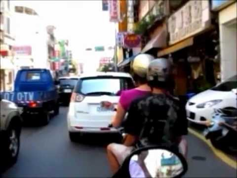 Taiwanese scooter trip - part 1 - Leaving Hsinchu
