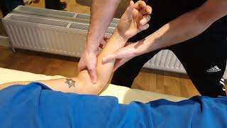 DEEP TISSUE MASSAGE PART 38 PROFESSIONAL TUTORIAL COURSE ON LINE LONDO