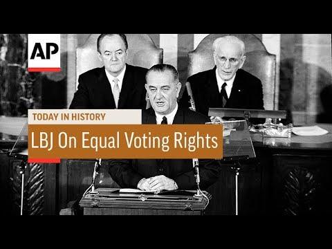 LBJ Calls For Equal Voting Rights - 1965 | Today In History | 15 Mar 18
