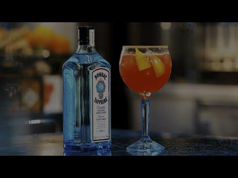 Sugar Spice & Everything Nice - Bombay Sapphire Cocktail