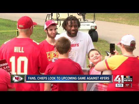 Fans, Chiefs look to upcoming game against 49ers