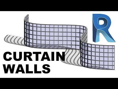 All You Need to Know about Curtain Walls in Revit