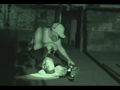 Ghost Caught on Tape REAL Footage Haunted Welles House