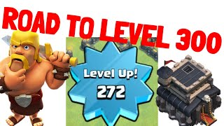 Getting Closer😍| Clash of Clans Pushing to level 300🔥 | Lets play clash of clans👌🤟 | Req n Leave
