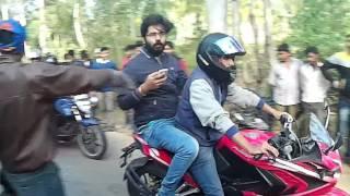 ktm rc200 crash in nandihill,bangalore thumbnail