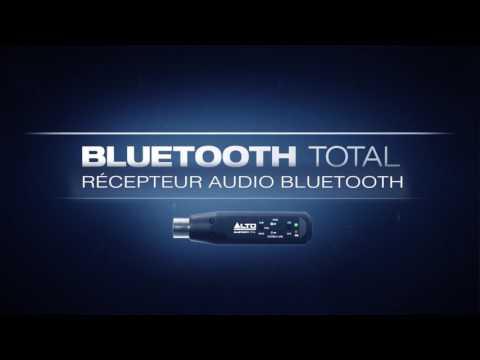 Récepteur Bluetooth XLR unité BLUETOOTHTOTAL Alto Professional vidéo