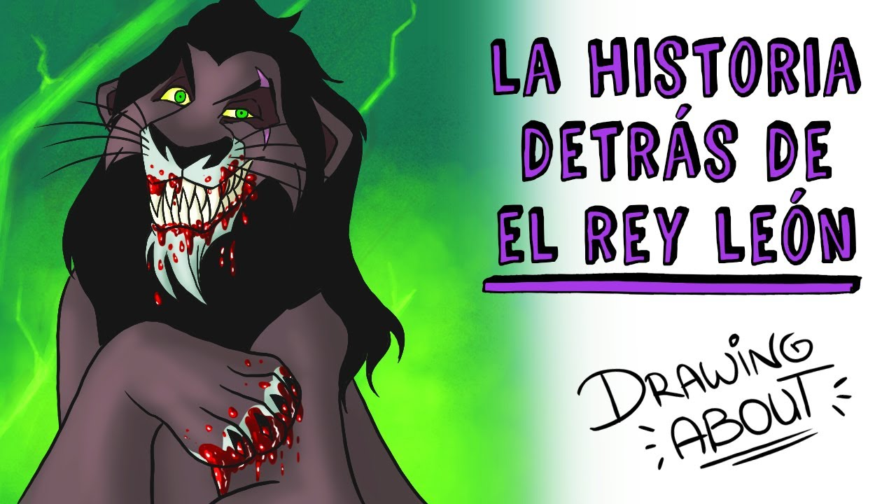 LA OSCURA HISTORIA DETRÁS DEL REY LEÓN | Draw My Life