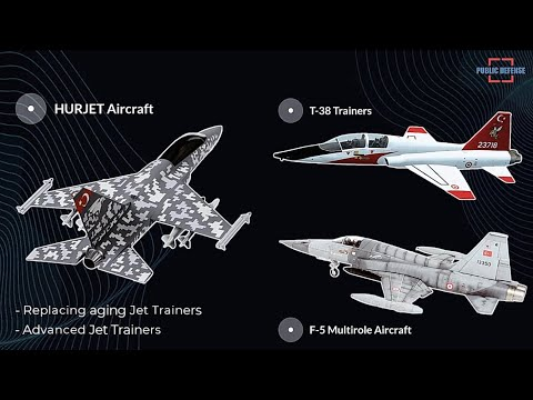 Turkish HURJET Project, The Next Advanced Jet Trainer and Light Attack Aircraft