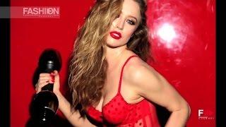 PIRELLI CALENDAR 2015 - RAQUEL ZIMMERMANN represents December by Fashion Channel