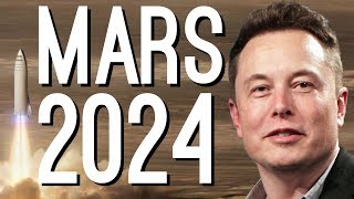 "Elon Musk: ""We're Going to Mars by 2024"""
