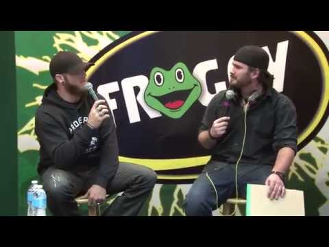 Brantley Gilbert stopped by live during Crockett's show!