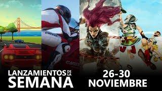 Xbox One | Lanzamientos de la semana (26 - 30 noviembre)
