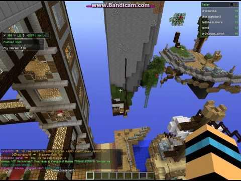 Пиар Креатив сервера Minecraft 1.5.2