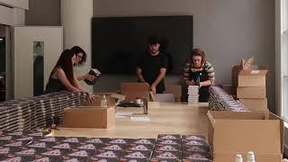 Signing Over 2500 Books! ♥ Good Evening, World! #158
