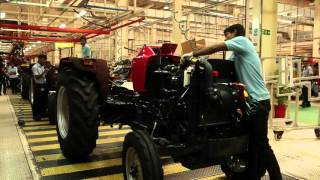 Mahindra Tractor Manufacturing Video for Make in India Week
