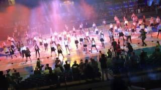 �������� ���� 100 DANCERS BEST FLASHMOB BASKETBALL ALL STARS GAME KESBASKET 2017 FREAK DANCE STUDIO RUSSIA ������