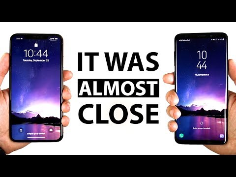 REAL LIFE iPhone Xs Max 512GB vs Galaxy S9 Plus Speed Test