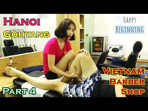 Vietnam Barber Shop - Gohyang (Hanoi, Vietnam) Part 4