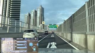 【車載動画】首都高速4新宿線→C2中央環状線内回り(山手トンネル)→B湾岸線東行き→E51東関東道下り